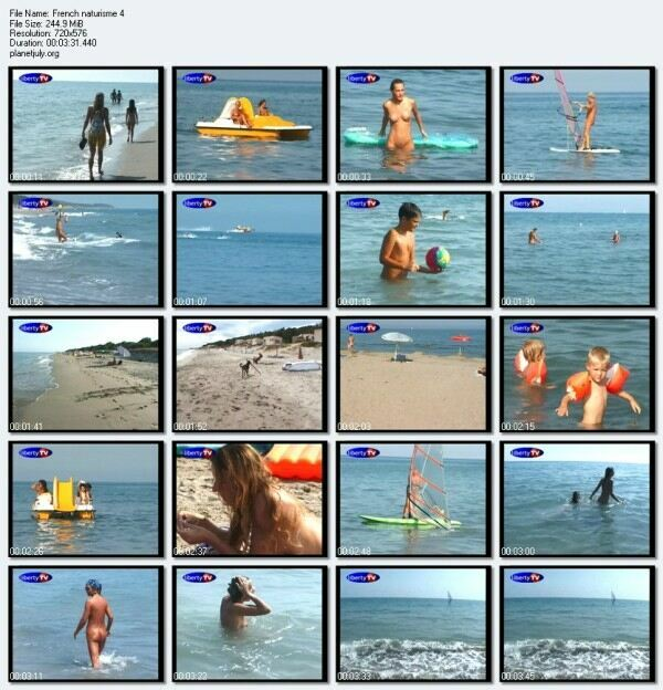 French naturisme 4 Family Nudism