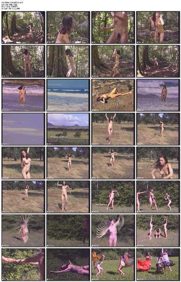 Nudist Documentary Video Naked Dance 1