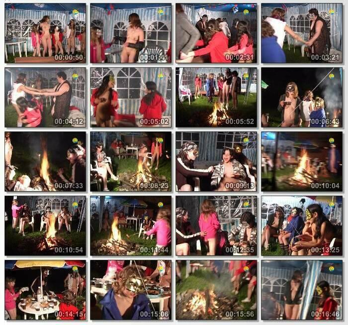 Night merry making Family Nudist Video 2