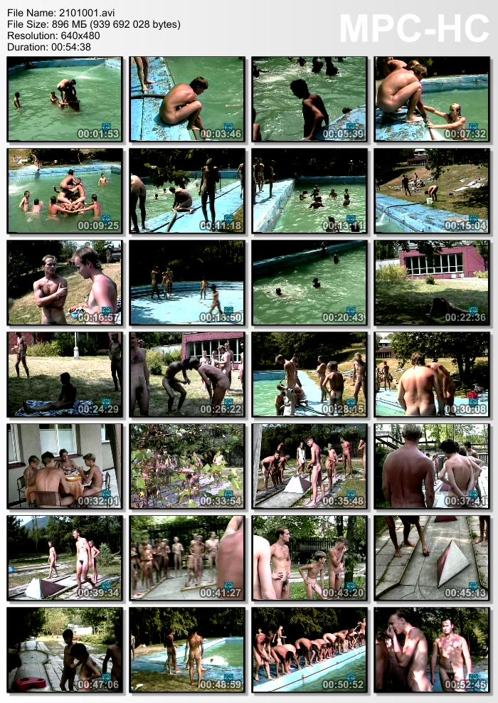Athletes of the Sun Nudist Boys Video