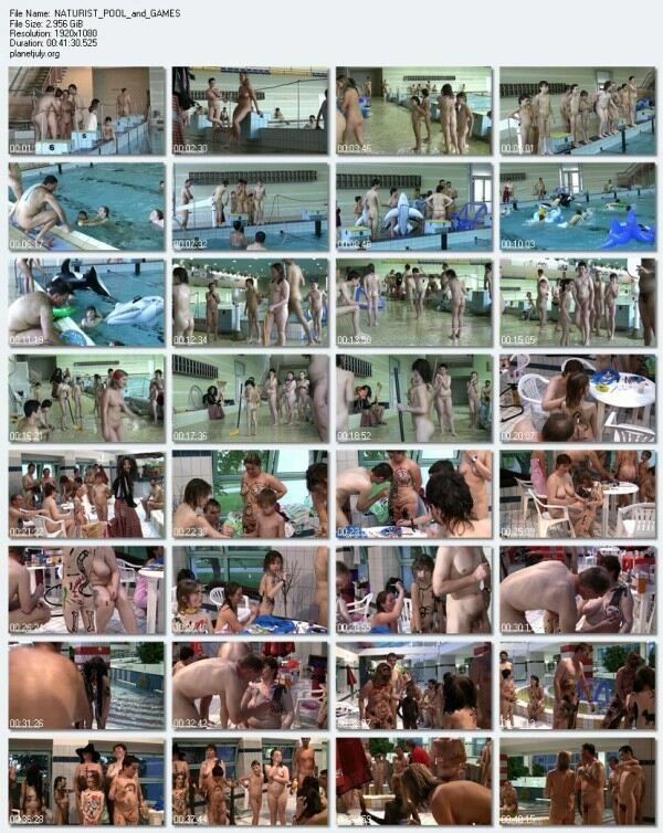 NATURIST POOL and GAMES   Purenudism