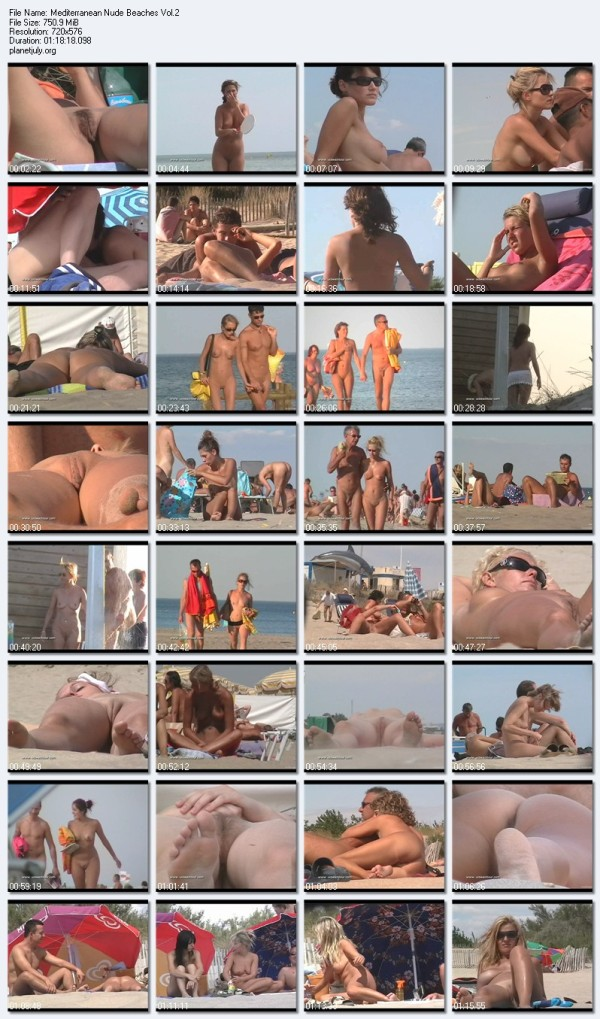 Nudist Documentary Video Mediterranean Nude Beaches Vol 2