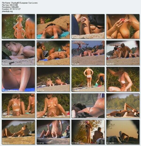 Nudist Beach Video European Sun Lovers