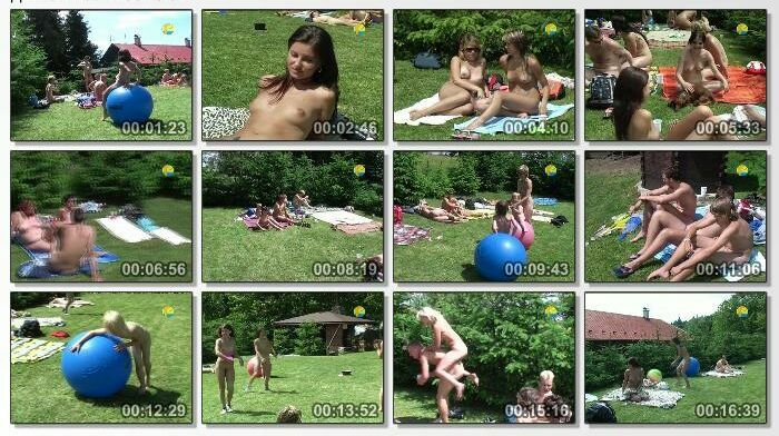 You Can Never Get Enough Sunbathing Family Nudism 3