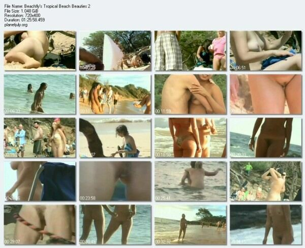 Nudist Beach Video Beachfly s Tropical Beach Beauties 2