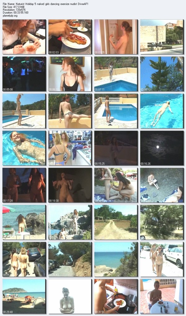 Nudist Documentary Video Adventures Freedom 1