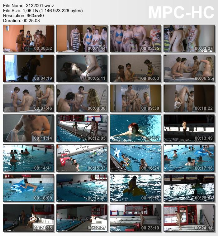Floating on Our Rafts   Naturist Family Events Videos