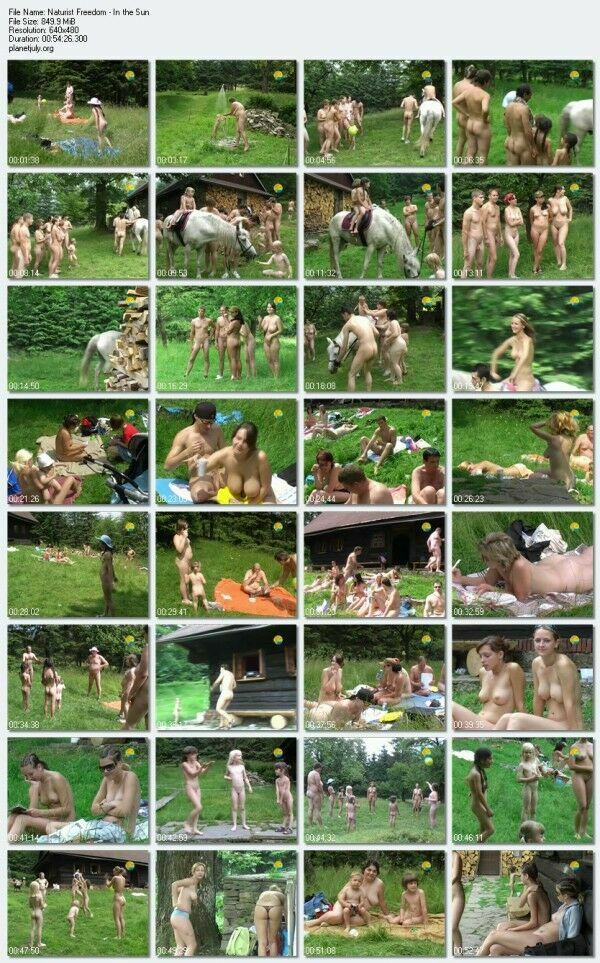 Nudist Family Naturist Freedom In the Sun