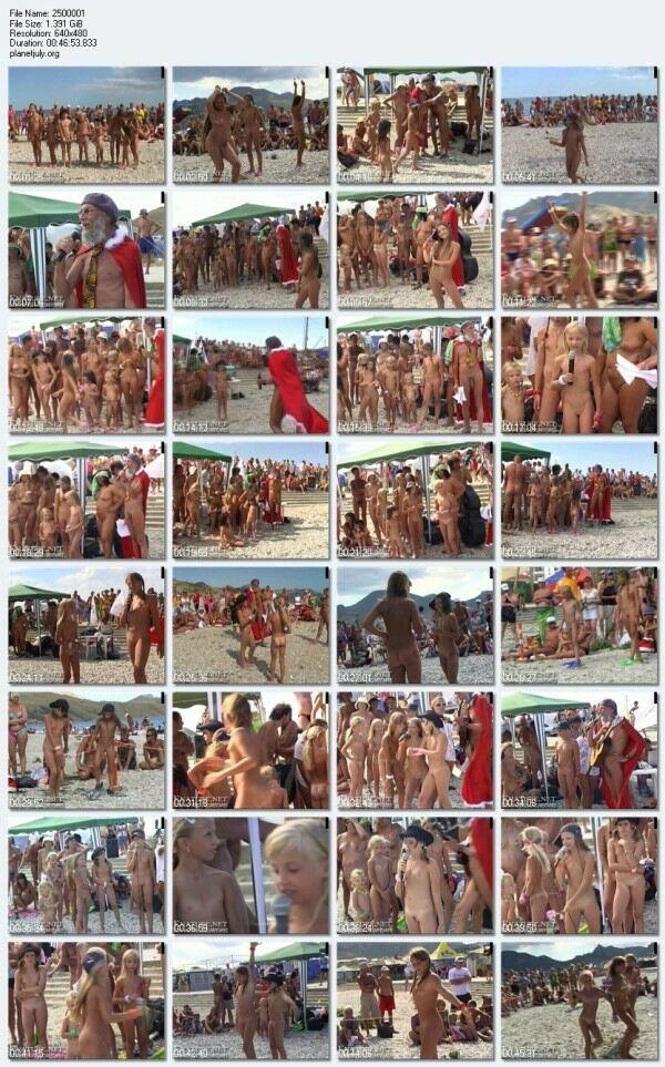 Russian nudist anal