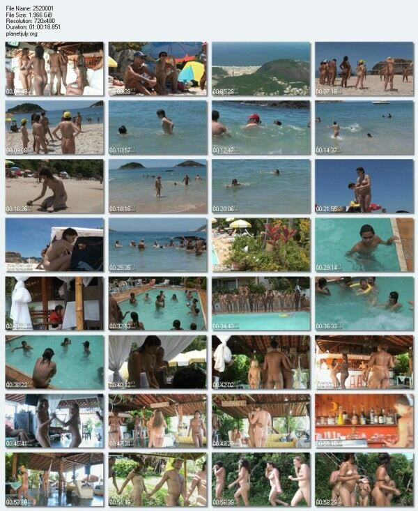 Nudist Family Video Brasil Naturist Festival Tour