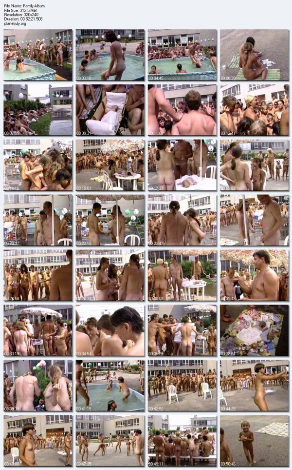 Family Nudist Video Family Album