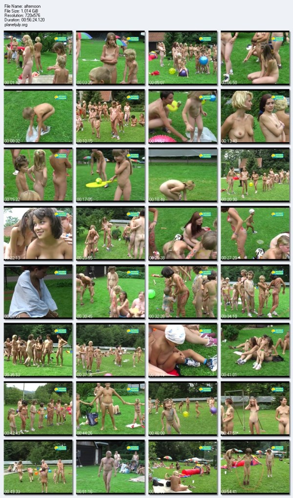 Childrens afternoon Naturist Freedom