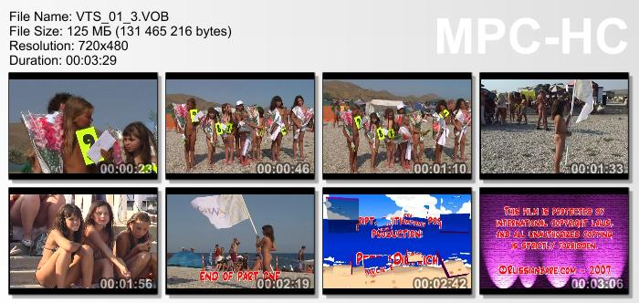 Family Beach Pageant part1 Family Nudist Videos 3