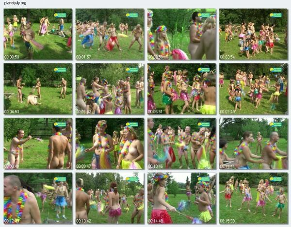 Nudist Family Video European Hawaii 1