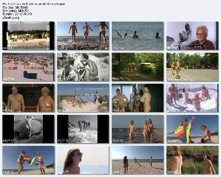 Nudist Documentary Video Als die Nackten an die Ostsee kamen