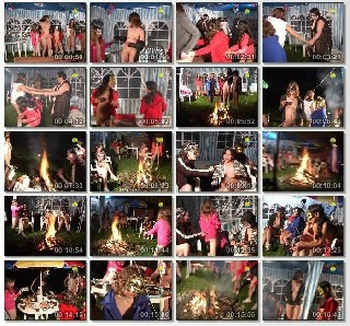 Night merry making Family Nudist Video 2