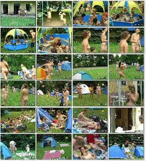Nudist family weekend