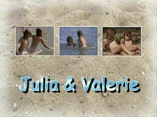 Julia and Valerie Teens Nudist Video