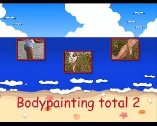 Bodypainting Total 2 Teens Nudist Family Video  Young Pure Nudism